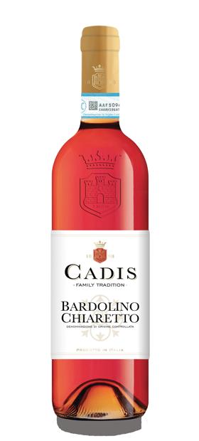 Foto Bottiglia bardolino chiaretto cadis - Soave Doc
