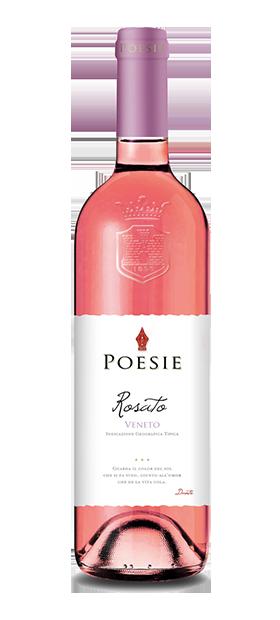 foto bottiglia poesie rosato veneto igt