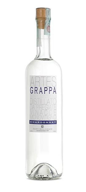 foto bottiglia artes chardonnay grappa